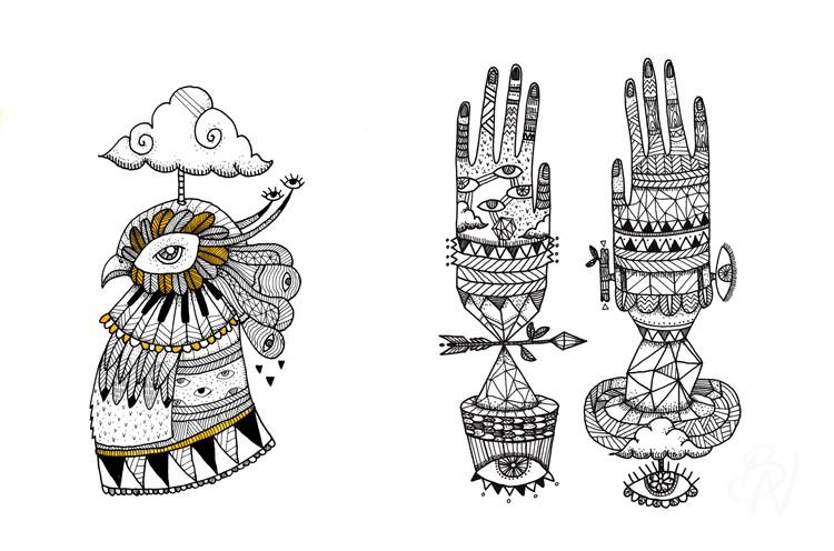 Bleu-Noir-Paris-tattoo-art-shop-Biarritz-abbesses-little-madi-15